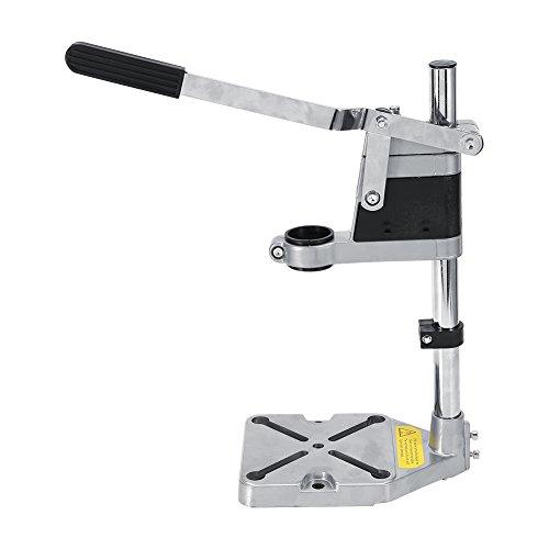 Bohrmaschinenständer, Einstellbare Halter Bohrer Tischklemme Multifunktionsgerät für Bohrmaschine Halterung Halterung von 43 mm oder 38 mm geeignet für Heimwerker oder Beruf Max Bohrtiefe 60mm