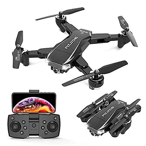 Drone GPS 30 Minuti Drone per Adulti con Fotocamera 4K Dual HD 5G WiFi FPV Quadcopter Droni Pieghevoli Fotografia Aerea