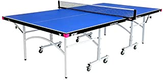 Butterfly Easifold 19 Ping Pong Table – 3 Year Warranty Table Tennis Table – 10 Minute Quick Assembly Ping Pong Table - Folding with Wheels – Compact Storage - 19mm Thick - Sturdy Frame