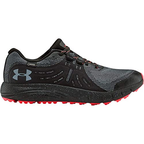 Under Armour Men's Charged Bandit Trail Gore-TEX Hiking Shoe, Black (001)/Wire, 10.5