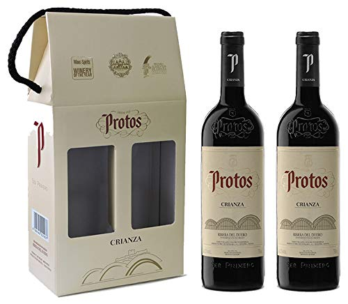 Protos Crianza, Estuche Vino Tinto 2 botellas 75cl