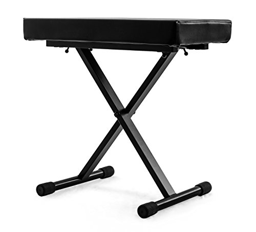 Review Of Nomad NKB-5505 Deluxe X-Style Keyboard Bench with 265-Pound Weight Capacity