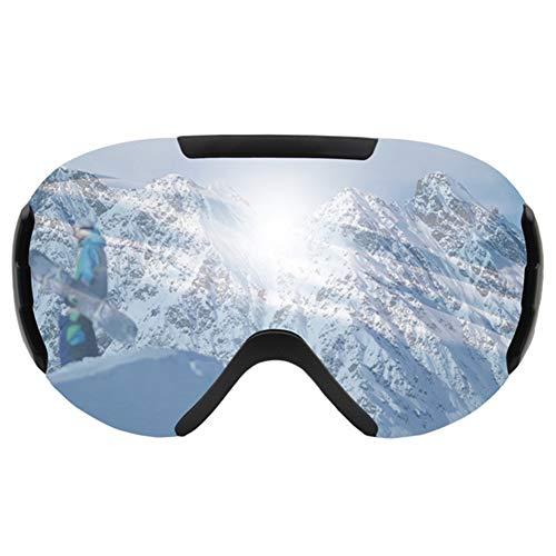 HWZHX Skibril, zand, waterdicht en winddicht, dubbele spiegel, anti-condens-sneeuwbril, groot gezichtsveld, uv-klimbril, outdoor