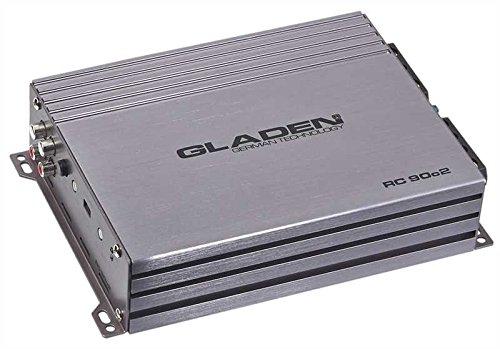 Gladen RC 90c2 2-kanaals versterker analoog 2 X 90 Watt RMS RC90c2