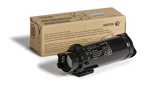 Xerox Phaser 6510/Workcentre 6515 Black High Capacity Toner Cartridge (5,500 Pages) - 106R03480