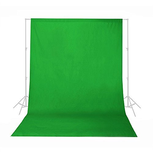 Phot-R® 3m x 6m Photo Studio 100% Cotton Muslin Backdrop Background - Green