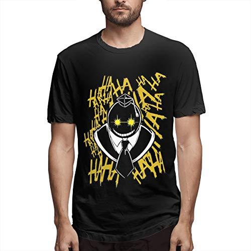 NOT Assassination Classroom Anime Men's Short Sleeve T-Shirt Adult Assassination Classroom Anime Tee XXL