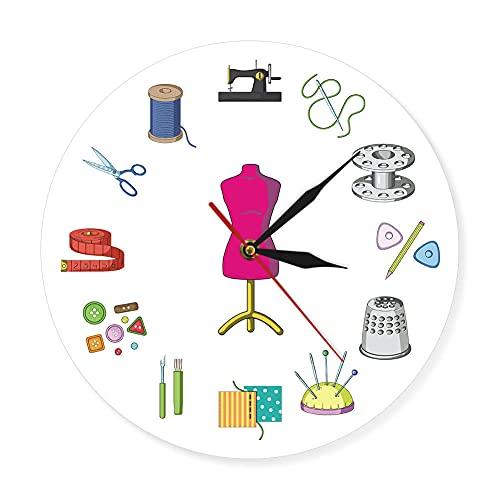 Reloj Tatuaje, AcríLico Tatuajes Pistola Artista Arte Corporal SalóN Logotipo DecoracióN Vintage Necesidad de Estudio Letrero Negocios InauguracióN Decorativo Tatuador Regalo