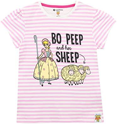 Disney Camiseta de Manga Corta para niñas Toy Story Bo Peep