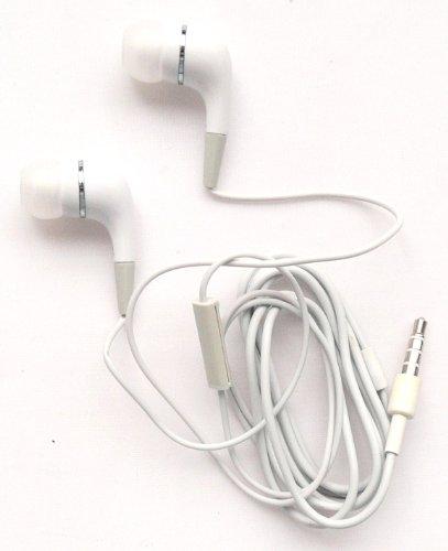 Emartbuy® Excelvan BT-1077/Excelvan BT-MT10/Excelvan BT-1009/Excelvan M-106M Tablet PC Weiß In Ear Kopfhörer Headset mit Mikrofon