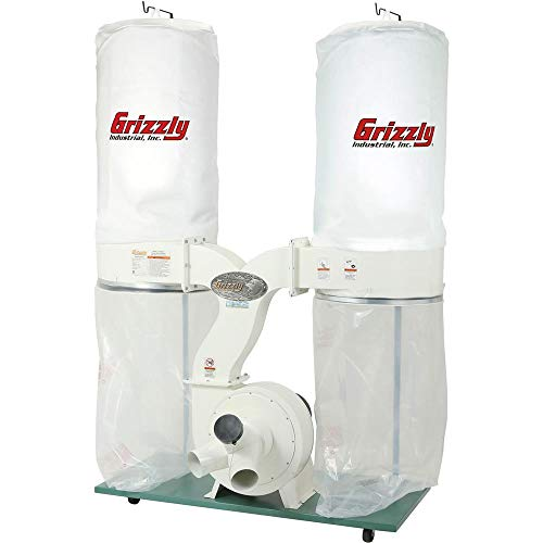 Product Image of the Grizzly Industrial G1030Z2P - 3 HP Dust Collector with Aluminum Impeller