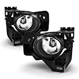 ACANII - For 2009-2015 Nissan Maxima Replacement Bumper Fog Lights Driving Lamps Assembly Driver & Passenger Side