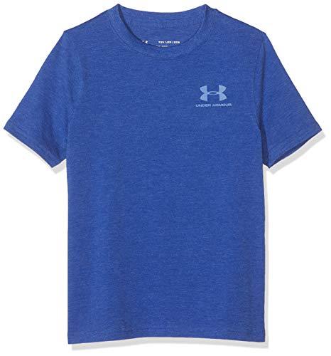 Under Armour Cotton Camisa Manga Corta, Niños, Azul, YMD