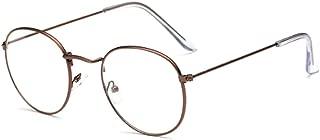 forepin Oval Lens vetro dellocchio Struttura vetro ottico Plain rotonda interamente in vetro-Rim Glasses