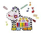 Happy Snail - Piano Zebre musical - 45 cm - Jouet Bébé