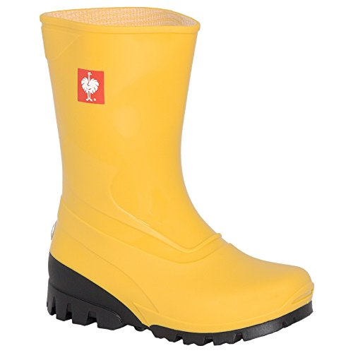 Engelbert Strauss Kinder Stiefel, Farbe:gelb, Größe:27