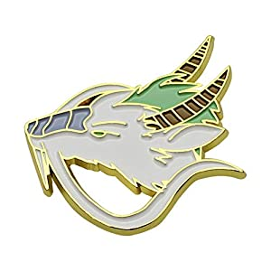 CUFTS Dragon Haku Anime Enamel Pin from Spirited Away, Cute Jewelry Chrismas Birthday Gift