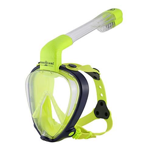 Aqua Lung Sport - Smart Snorkel Junior - Full Face Schnorchelmaske, Farbe:gelb, Größe:XS/S
