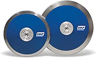 4Throws 1.6 KG Discus [70% Rim Weight] ⦿ Training Ready ⦿ IAAF Certified ⦿ Boys Track and Field