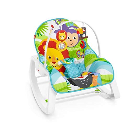 Fisher-Price 2-in-1 Evolution Bouncer - GNV69 - Baby Bouncer