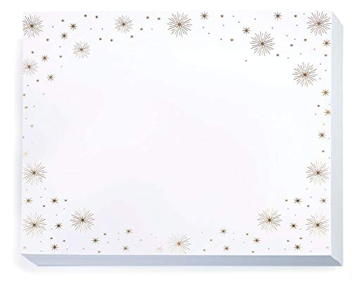 PaperDirect Starburst Border Specialty Certificate, Gold Foil Border on 70 lb. Stock, 8.5 x 11 Inches, Laser and Inkjet Compatible, 50 Count