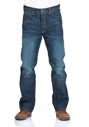 Levi's Jeans 501 Straight - Original Fit, Uomo - Galindo, Taglia:W40 L32