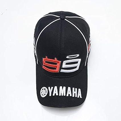 DGFB Die Neue Moto Gp F1 Jorge Lorenzo 99 Mann Bestickt Yamaha Motorrad Racing Sport Herren Baseball Cap M/ütze Snapback H/üte