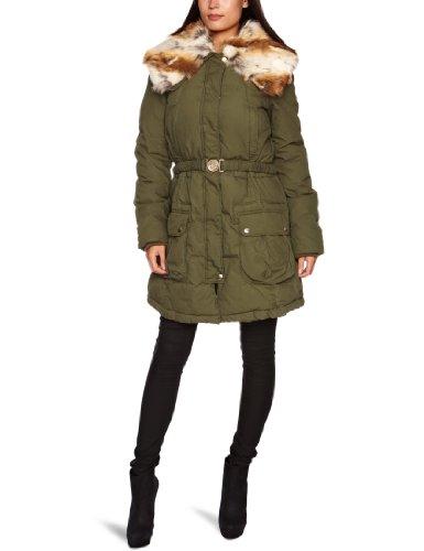 Miss Sixty Damen Parka, W41900-CA9010-L000AQ/CORBIN Jacket, Gr. 34/36 (S), Grün (E03430)