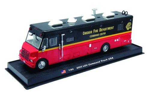 LDV Command Fire Truck Diecast 1:64 Model (Amercom GB-13)