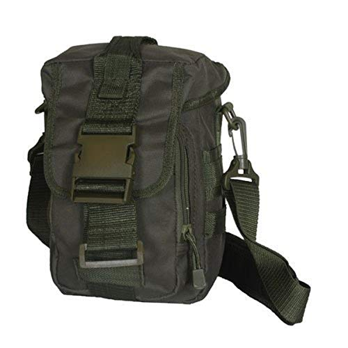 Fox Outdoor Products Modular Tactical Shoulder Bag, Olive Drab, 9.5' X 6.5' X 5'