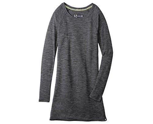 SmartWool Women's Merino 250 Pattern Dress (Black/Light Gray) Medium
