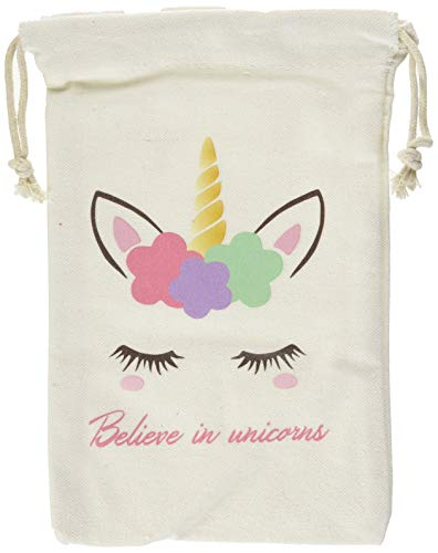 """LUCK COLLECTION Unicorn Party Favor Bags per bambini Birthday Party Decoration 10 Pack 5 × 8"""""""