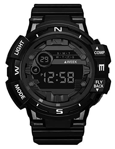 Reloj Digital Niño Niña, Reloj Deportivo Digital LED Impermeable Reloj de Pulsera para Adolescentes Multifunción Cronógrafo Alarma Calendario Relojes