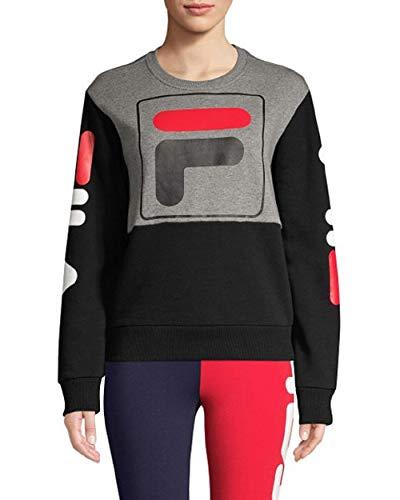 Fila Stacy Sweatshirt Varsity Heather/Black/Black XS