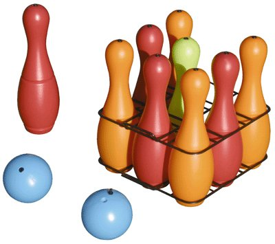 Générique Jeu Bowling 9quille + 2boules [Jouet]