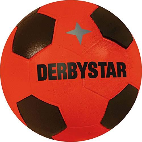 Derbystar Unisex– Erwachsene Fußball Ball-2051000300 Ball, rot schwarz, 23 cm