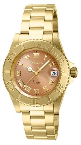 Invicta Women's 14365 Angel Analog Display Swiss Quartz Gold Watch