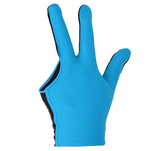OhhGo Billard-Handschuh, Unisex, Handgelenkverdickung, Design Snooker, Billard, Queue, Handschuh für Pool, linke Hand zu öffnen