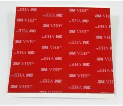 582 opinioni per StickersLab- 3M 5952 biadesivo VHB a schiuma acrilica (5 pezzi 100x100mm)
