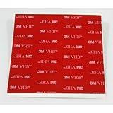 StickersLab - 3M 5952 biadesivo VHB a schiuma acrilica (5 pezzi 100x100mm)