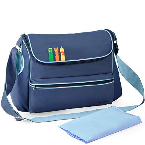XFBH Bolsa de gancho para cochecito de bebé Productos bolsa impermeable Bolsos Crossbody de mujer de gran capacidad maternidad y bebé espera paquete bolsa de pañales bolsa de la madre (color: A2)