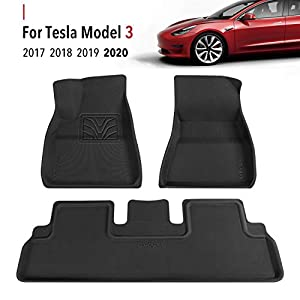 Anti-Slip Floor Liners for Tesla