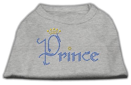Mirage Prince - Camiseta para Perro con Diamantes de imitación, tamaño Mediano,...
