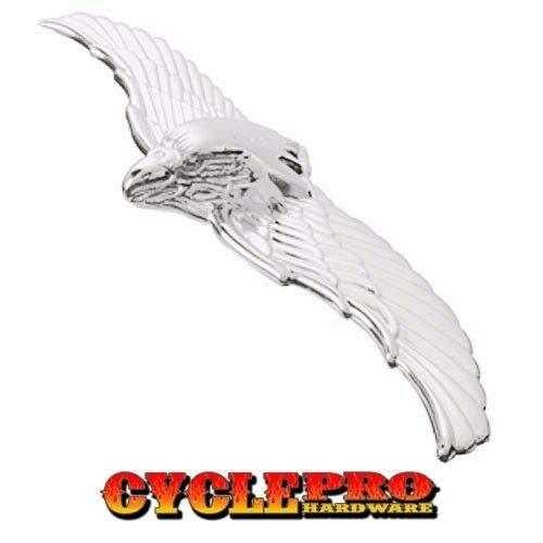 StoreAuto by Lg Aluminum War Eagle Metal Emblem - Hotrod Car Truck Hood Ornament