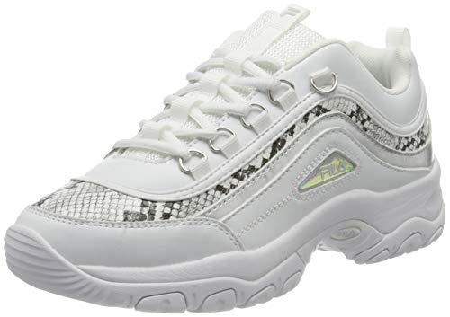 FILA Strada A wmn zapatilla Mujer, blanco (White/Snake), 40 EU