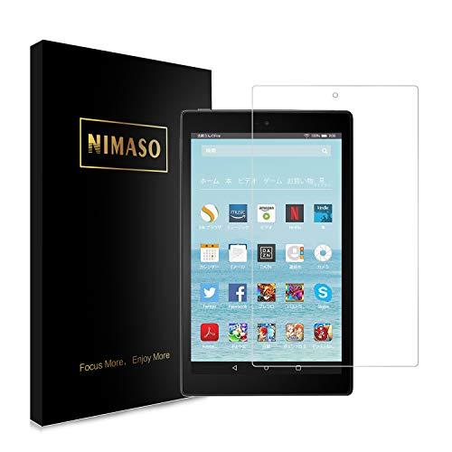 Nimaso Fire HD 10 強化ガラス液晶保護フィルム 【日本製素材旭硝子製】3D Touch対応/業界最高硬度9H