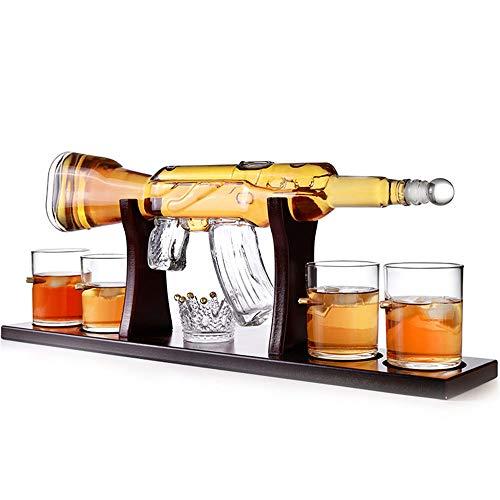 WHR-HARP Rifle Gun Whiskey Decanter