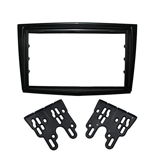 2 DIN Coche Adaptador de Radio Frame Fascia/Ajuste para Opel Astra (H) / / FIT FOR Daewoo WINSTORT Stereo FASTE Stereo FASTIA Dash CD Trim Kit DE INSTALACIÓN (Color : Black)