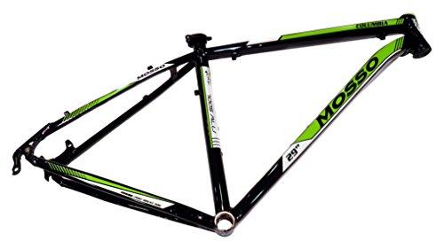 """Mosso MTB 2932TB - Cuadro, Color Negro/Verde, Talla 19"""""""