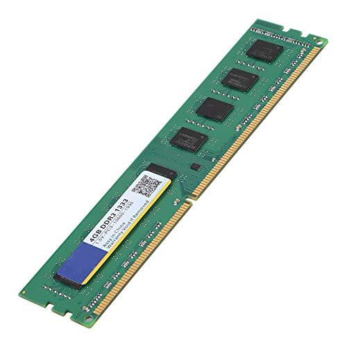 Tosuny Desktop RAM, DDR3 1333 MHz 4G 1,5 V 240Pin DDR3 PC3-10600 Desktop-Computer Arbeitsspeicher RAM für AMD Motherboard